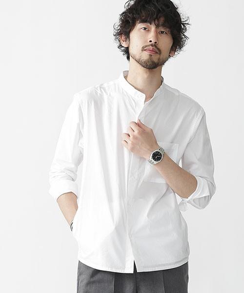 メンズにおすすめの白シャツ