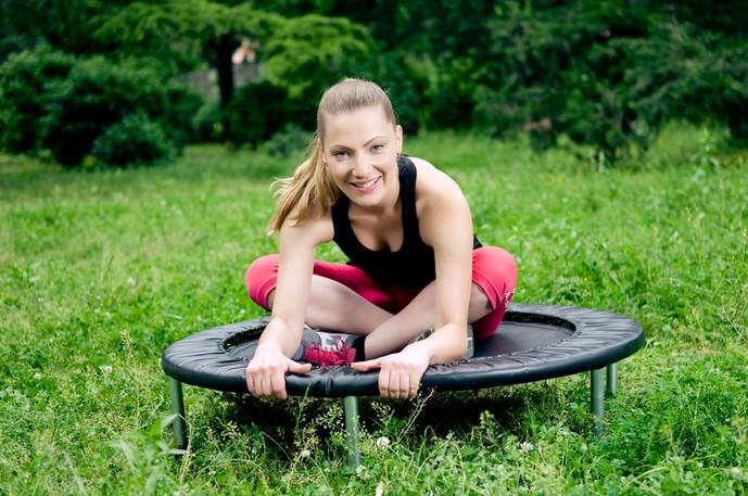 トランポリンダイエット 簡単 トレーニング