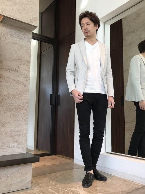 30代男性に最適な同窓会の服装
