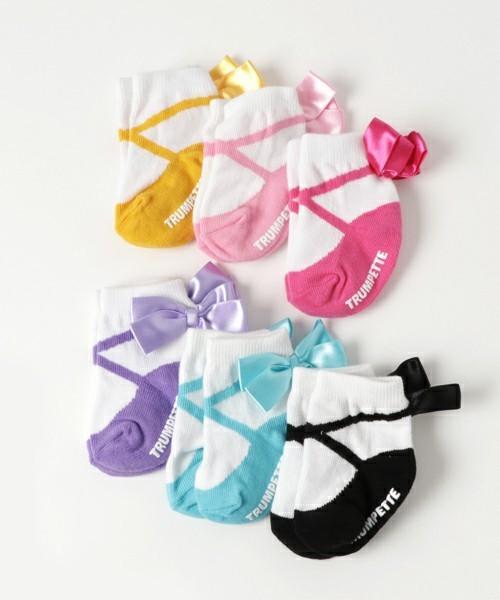 出産祝いのブランド靴下プレゼントはトランペット1