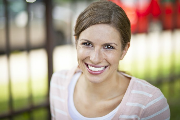 女性心理で自然な笑顔が出る