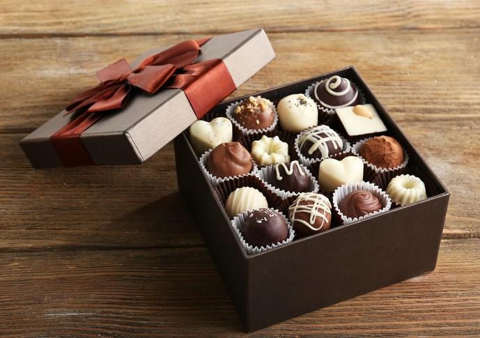 女友達の誕生日プレゼントにチョコレート