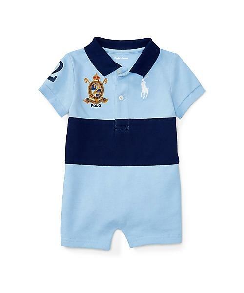出産祝いの男の子向けベビー服はボロラルフローレン