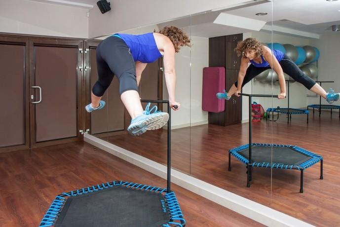 トランポリンダイエットの効果的なトレーニング