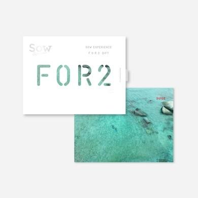 ギフトカードのプレゼントにFOR2ギフトのレッド.jpg