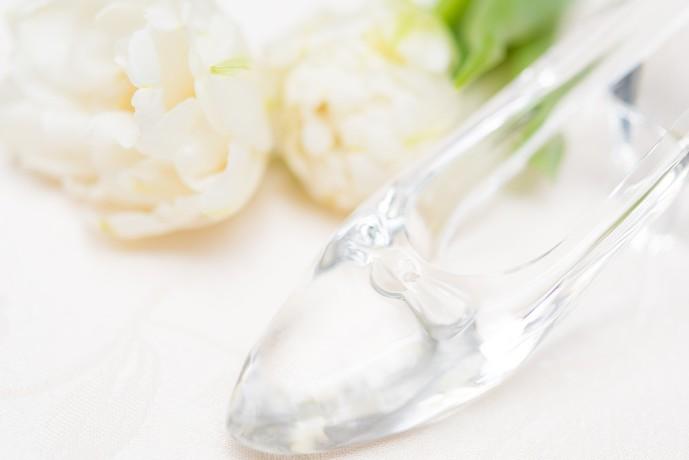 プロポーズのプレゼントにガラスの靴