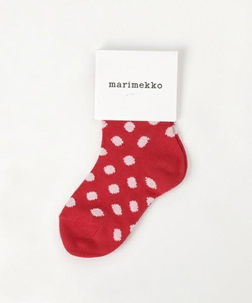 出産祝いのプレゼントはマリメッコの靴下
