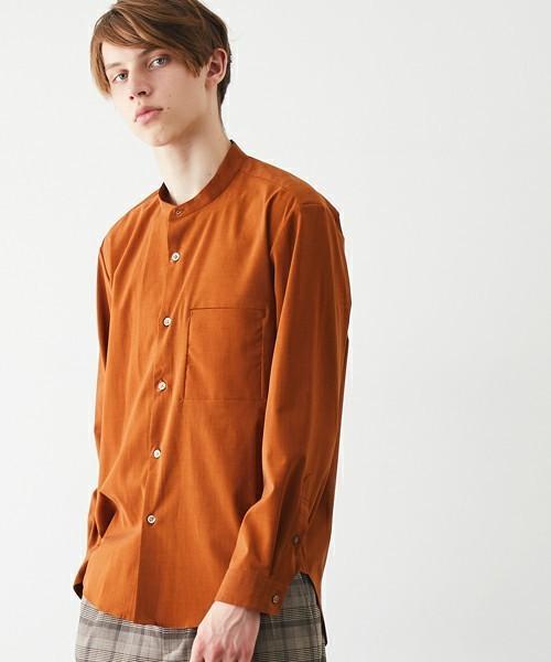 ストレスフリーなシャツ