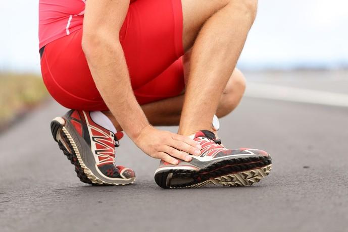 足首の動きの影響を与える筋肉部位