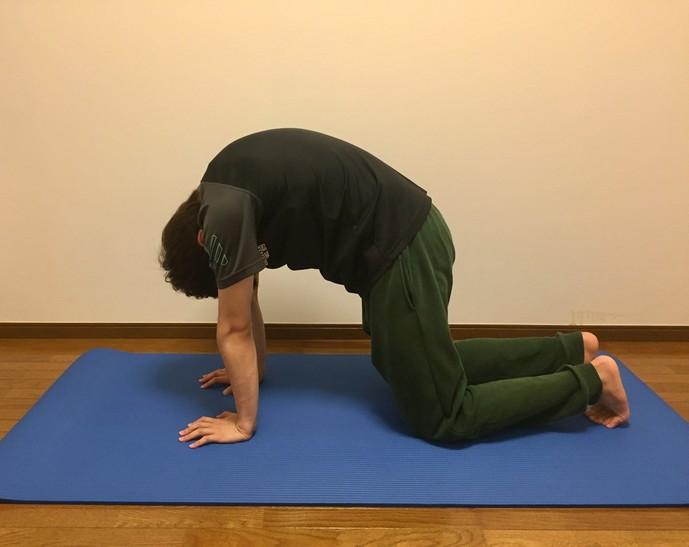 腹筋の効果的なストレッチ2-1