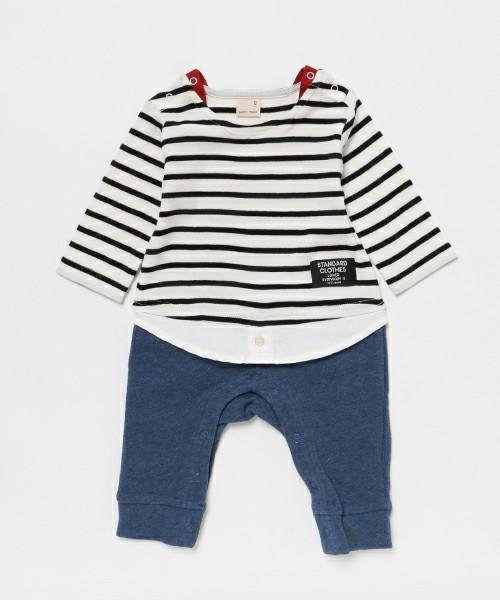 1歳の男の子への誕生日プレゼントはプティマインの服
