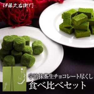 ホワイトデーで本命彼女にお返ししたいプレゼントに伊藤久右衛門の生チョコレート