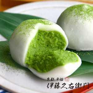 父の日は和菓子の抹茶大福でお祝い