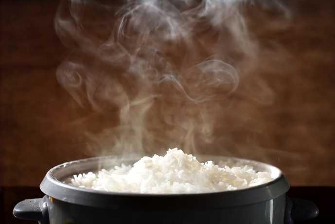 3合炊き炊飯器で作られたご飯
