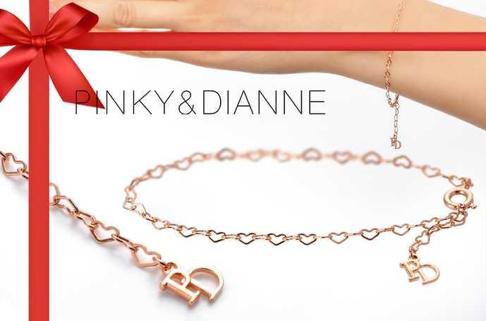 ホワイトデーのお返しにPinky&Dianneのブレスレット