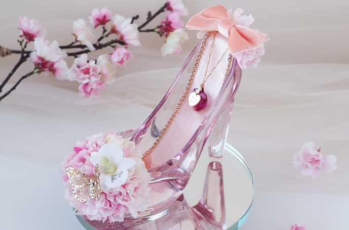 本命彼女へホワイトデーに花をプレゼントするならガラスの靴