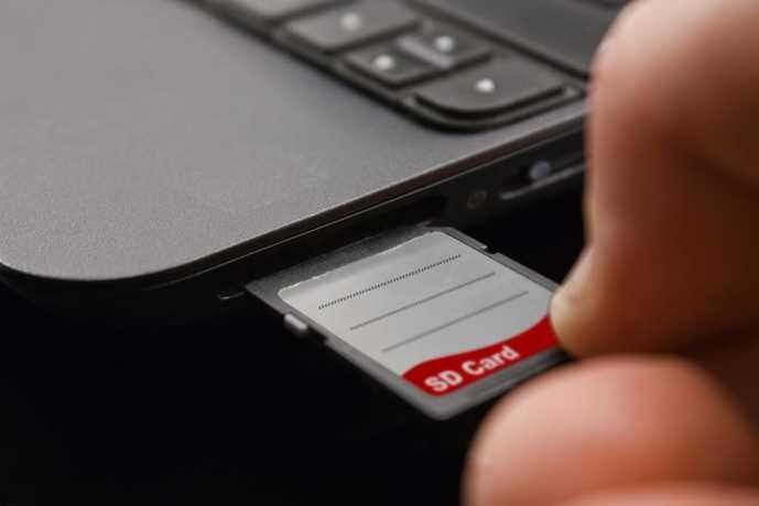 SDカードの種類は主に3種類ある