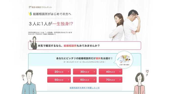 神戸のおすすめ結婚相談所サービスは婚活_結婚おうえんネット