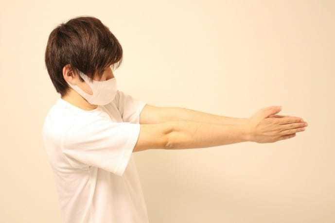 上腕筋の効果的なストレッチ2