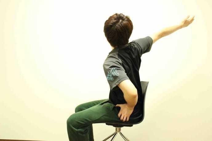 大円筋の効果的なストレッチメニュー1-2