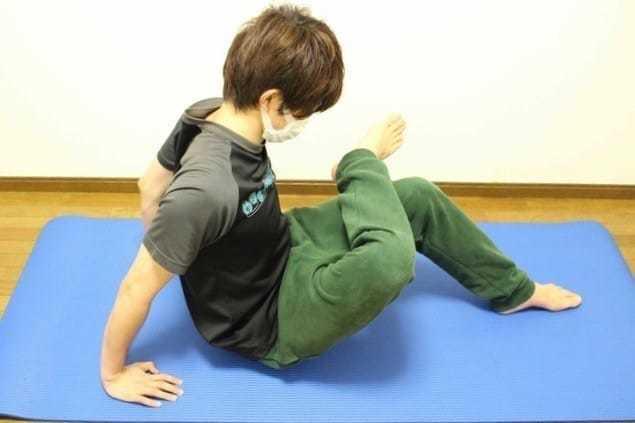 中臀筋の効果的なストレッチ