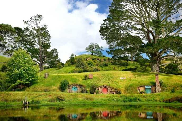 ニュージーランドのおすすめの観光スポットにホビット村