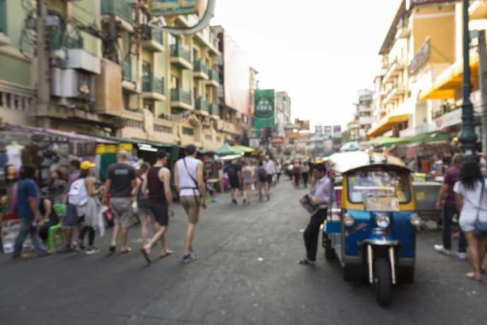 バンコクのおすすめ観光名所「カオサン通り」
