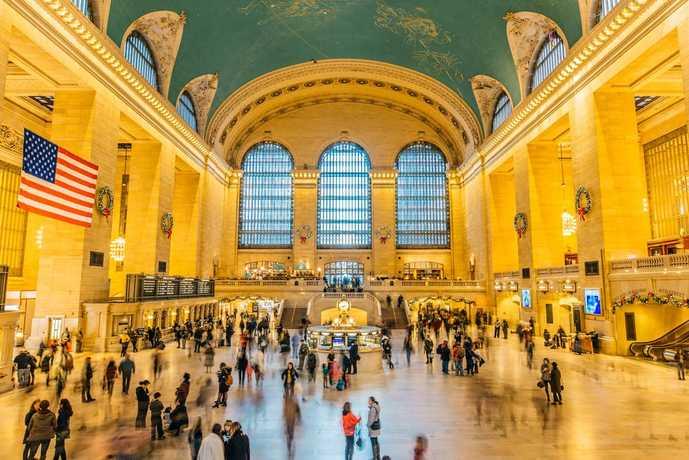 ニューヨークのおすすめ観光スポット「グランドセントラル駅」