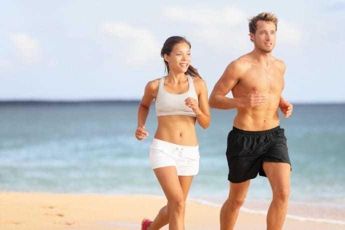 割れた腹筋を浮かびあげるために必要な有酸素運動