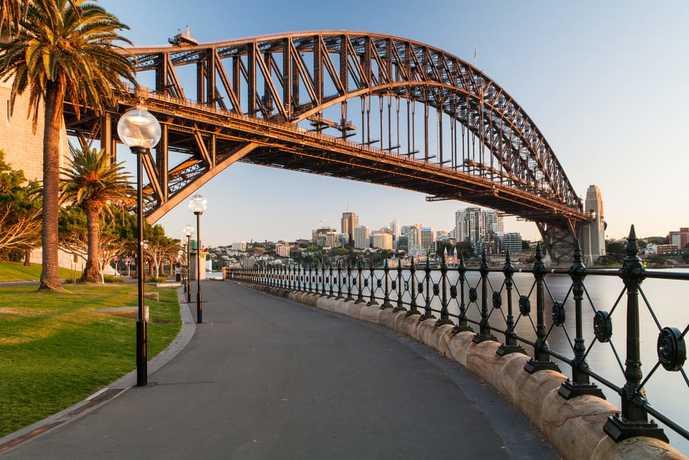 オーストラリアのおすすめの観光スポットにハーバーブリッジ