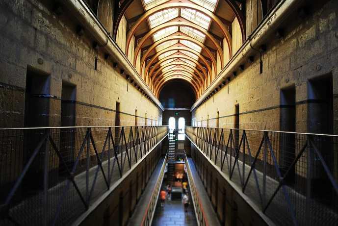 オーストラリアのおすすめの観光スポットに旧メルボルン監獄