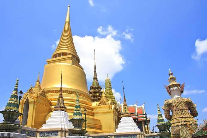 バンコクの人気名所「ワット・プラケオ」