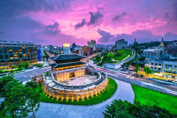 ソウルのおすすめ観光スポット「東大門市場」