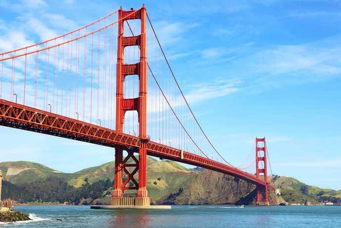 サンフランシスコのおすすめ観光スポット「ゴールデンゲートブリッジ」