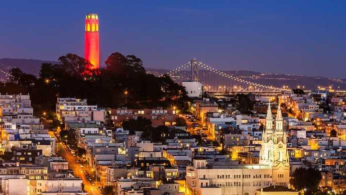 サンフランシスコのおすすめ観光スポット「ロンバートストリート」