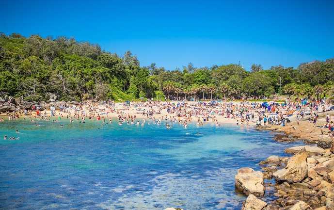 オーストラリアのおすすめの観光スポットにシェリービーチ