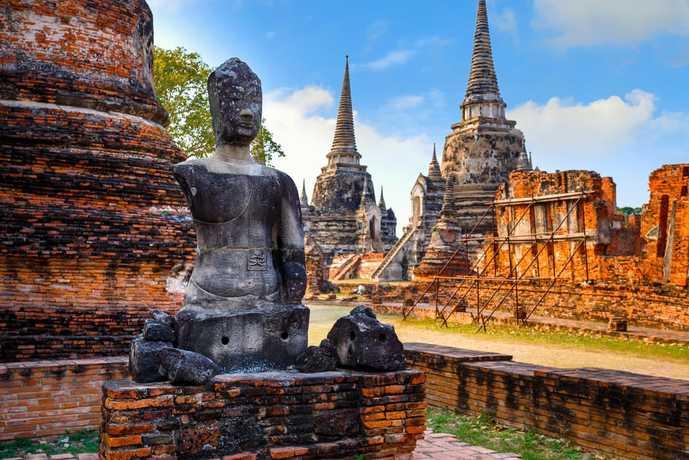 タイ・アユタヤのおすすめ観光地「ワット・プラ・シーサンペット」