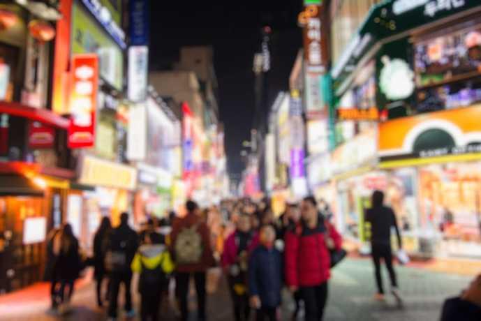 ソウルのおすすめ観光スポット「明洞」