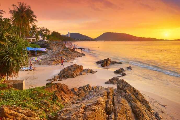 タイ・プーケットのおすすめサンセット「パトンビーチ」