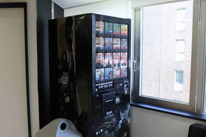 ゴリラクリニック新宿院にある自動販売機