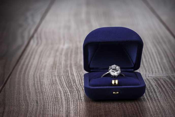 婚約指輪の相場や値段について