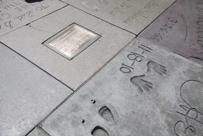ロサンゼルスのおすすめスポット「チャイニーズシアター」