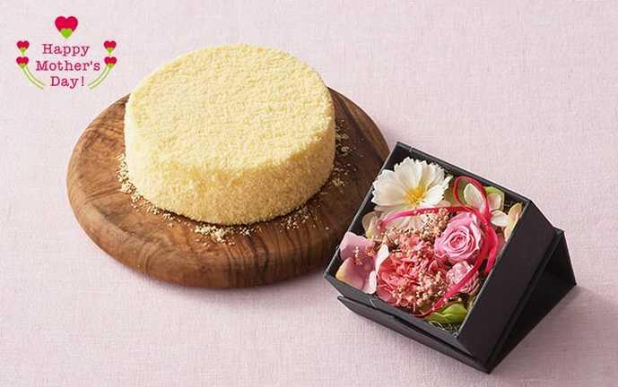 母の日のお菓子のプレゼントにルタオのチーズケーキセット