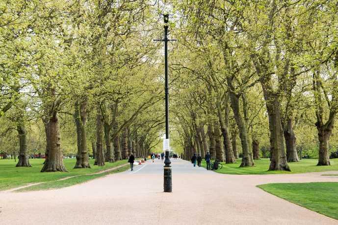 ロンドンのおすすめ観光スポットにハイドパーク