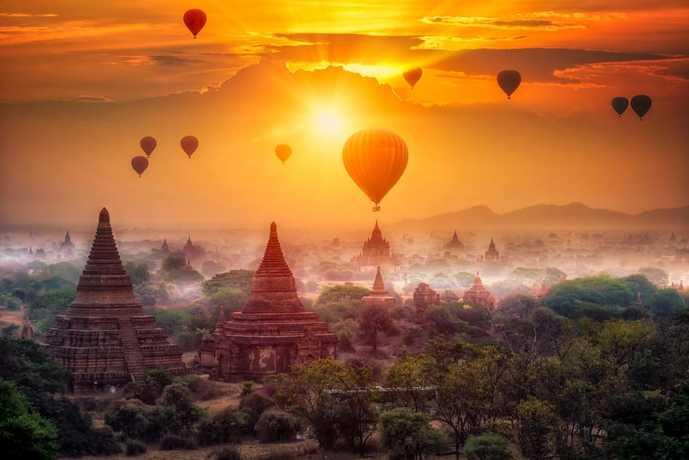 ミャンマーでおすすめの観光スポット