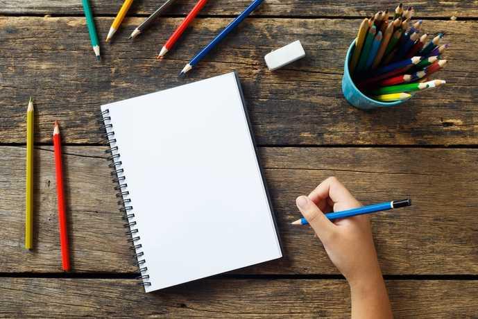 色鉛筆のタイプは主に2種類ある