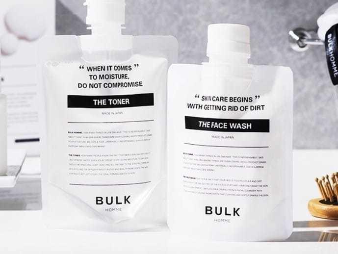 20代におすすめのメンズ化粧水はバルクオム
