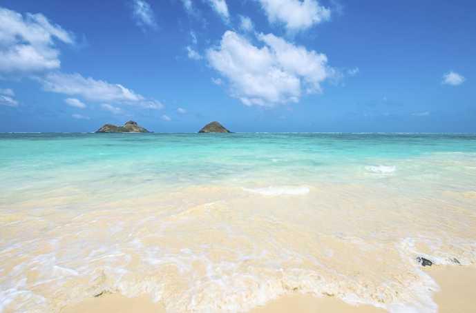 ハワイのおすすめ観光スポット「ラニカイビーチ」