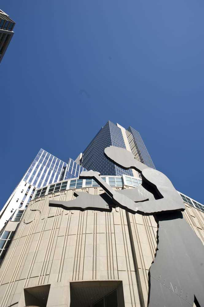ハンマリングマンのいるシアトル美術館