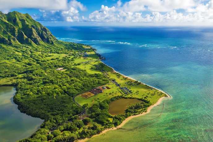 ハワイのおすすめ観光スポット「カネオヘ湾」